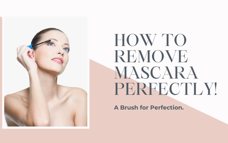 How to Remove Mascara Perfectly!